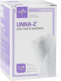 Medline NONUNNA13 Unna-Z Zinc Boot Bandages (Pack of 12)