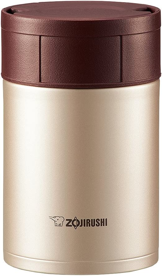 ZOJIRUSHI Stainless Steel New Orleans Mall Food Jar SW-HB45-N 450ml SEAL limited product Cinnamon Gold