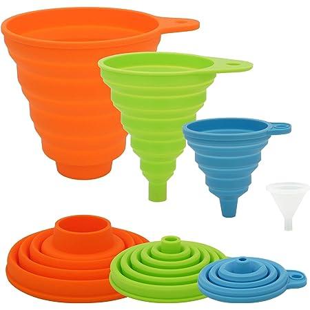 Household Folding Telescopic Mini Funnel Food Grade Kitchen Tool Vogue Magic