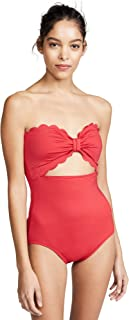 Best kate spade scalloped bandeau one piece swimsuit Reviews