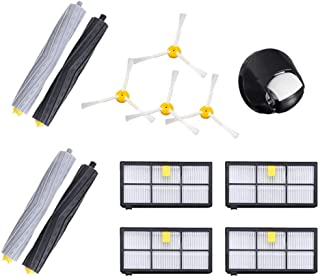 Amaae® Brush Filters Side Brushes Accessories For Irobot Roomba 860 870 880 980 Cleaner With(As shown,ABS)