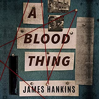 A Blood Thing audiobook cover art