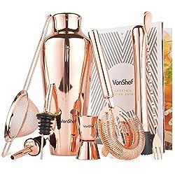 bar set - copper gifts for husband