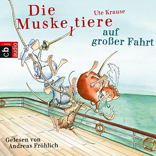 Die Muskeltiere auf großer Fahrt audiobook cover art