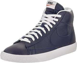 Men's Blazer Mid PRM Binary Blue/White Black Casual Shoe 11 Men US