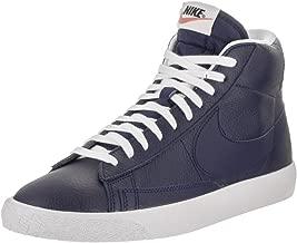 NIKE Men's Blazer Mid PRM Binary Blue/White Black Casual Shoe 11 Men US