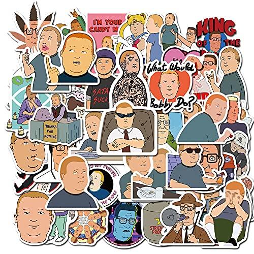 LSHLSH Cartone Animato Popolare Personaggio Del Cartone Animato Diario Graffiti Trolley Caso Tazza Acqua Decorazione Impermeabile Adesivo Giocattoli All'ingrosso 50Pcs