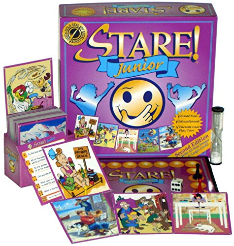 Stare Junior Board Game for Kids - Second Edition for Ages 6-12