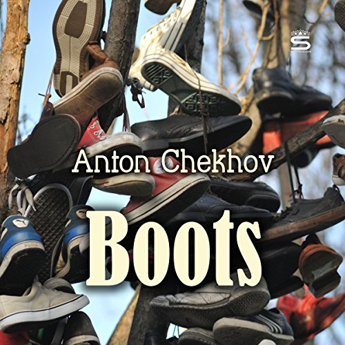 Boots audiobook cover art