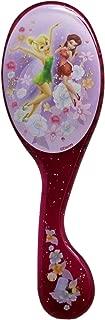 Tinker Bell and Rosetta Dark Pink Glittery Kids Hairbrush