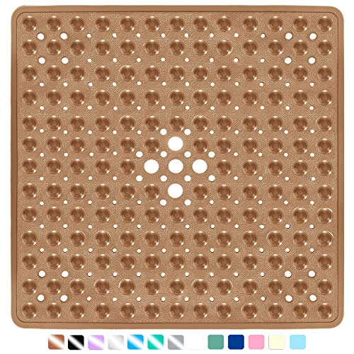 Yimobra Square Bath Shower Tub Mat for Bathroom, Non Slip Bathtub Mats with...