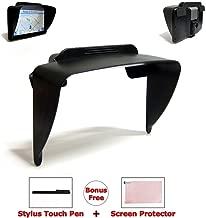 Ramtech 7-inch Clip-on Visor Sun Shade Sunshade for Magellan RoadMate 9400-LM 9412T-LM 9416T-LM 9465T-LMB GPS + Bonus Free Stylus Pen & Screen Protector (Non-OEM) - VSC7