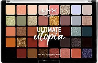 NYX Professional Makeup, Ultimate oogschaduwpalet, 40 tinten, mat, metallic, kleur: Ultimate Utopia