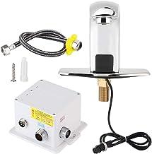 Fdit G1/2in Touchless Badkamer Keukenkraan, Automatische Sensor Kraan Hand Gratis Contactloze Waterkraan voor Thuis Hotel