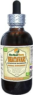 Shatavari (Asparagus Racemosus) Tincture, Organic Dried Root Powder Liquid Extract 2 oz