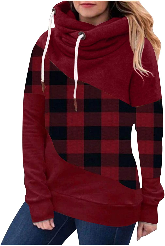 Womens Sweatshirts Pullover,Tie-dye Sweatshirts Oversized Long Sleeve Sherpa Casual Fit Hoodie with Pockets Winter