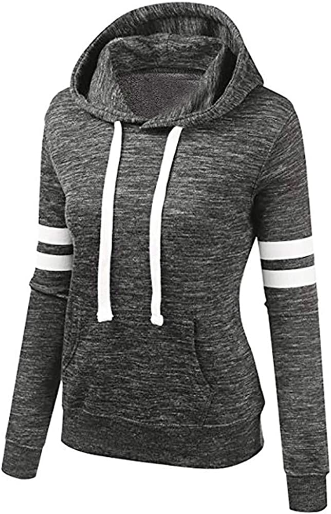 MD Women Ladies Hoodie Baggy Jumper Hooded Sweater Sweatshirt Coat Pullover Tops