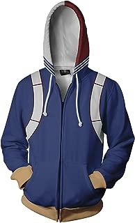 NoveltyBoy Boku No Hero Academia My Hero Academia Todoroki Shoto Hoodies Sweatshirt Cosplay Costume Battle Suit Jacket
