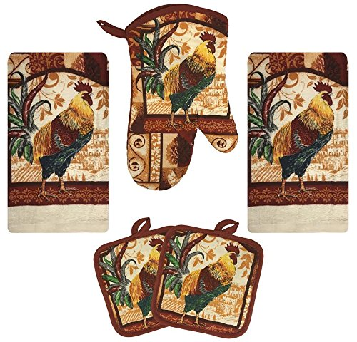Top 10 Best Selling List for rooster kitchen towels sets