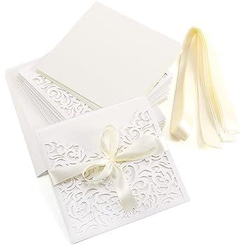 Karte DIN A6 Grußkarte 25 St mit Umschlag rosa Einladung Hochzeit Taufe