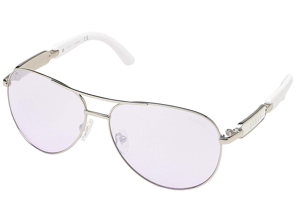 GUESS GU7295 (Shiny Light Nickeltin/Gradient) Fashion Sunglasses