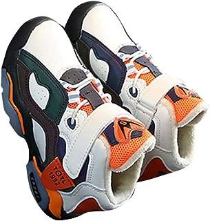 Hopscotch Boys PU Velcro Athletic Shoes - Beige