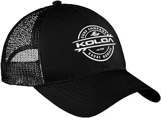 Joe's USA Koloa Surf Thruster Logo Old School Curved Bill Mesh Snapback Hats