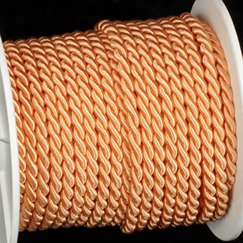 Selling rankings The Ribbon People Peach Braided Fabric Yards 27 x service .25