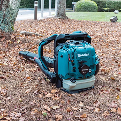 Makita EB7660WH 75.6 cc MM4 4-Stroke Engine Hip Throttle Backpack Blower, Teal
