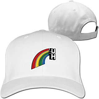 Men Women Hawaii Rainbow Warriors Sport Snapback Peaked Hats Ash Unisex