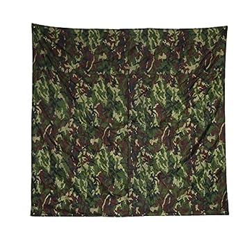 Alomejor Couverture de Pique-Nique Etanche Ultraléger Tente Bâche Multifonctionnel Camouflage Empreinte Tapis de Sol pour Camping