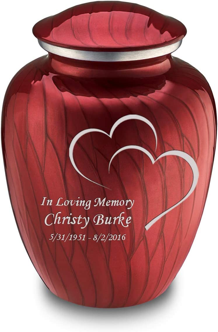 GetUrns Adult specialty shop Ranking TOP20 Embrace Hearts Cremation with Urn Custom Engraving