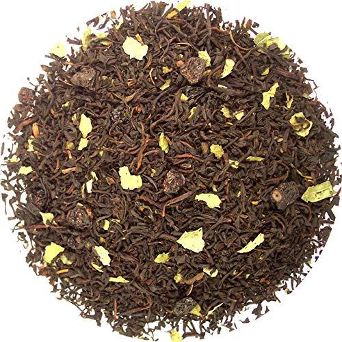 Zwarte bessen thee, zwarte thee, 100 gram losse thee