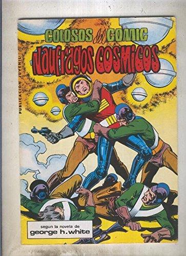 Miguel Angel Aznar numero 11: Naufragos cosmicos (numerado 1 en trasera)