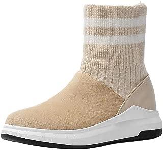 KemeKiss Brand Women Fashion Block Heels Ankle Boots Autumn Zipper