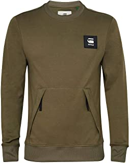 G-STAR RAW Box Logo Pocket Tweater Maglia di Tuta Uomo