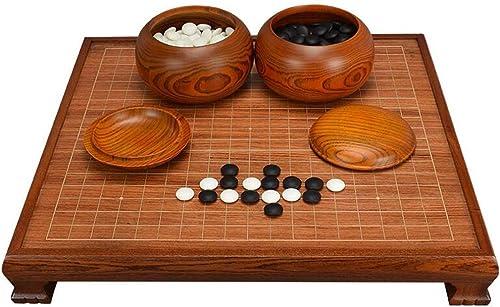 HongTeng Go Set, Table d'échecs en Bois de Palissandre avec Pieds (Couleur   C)