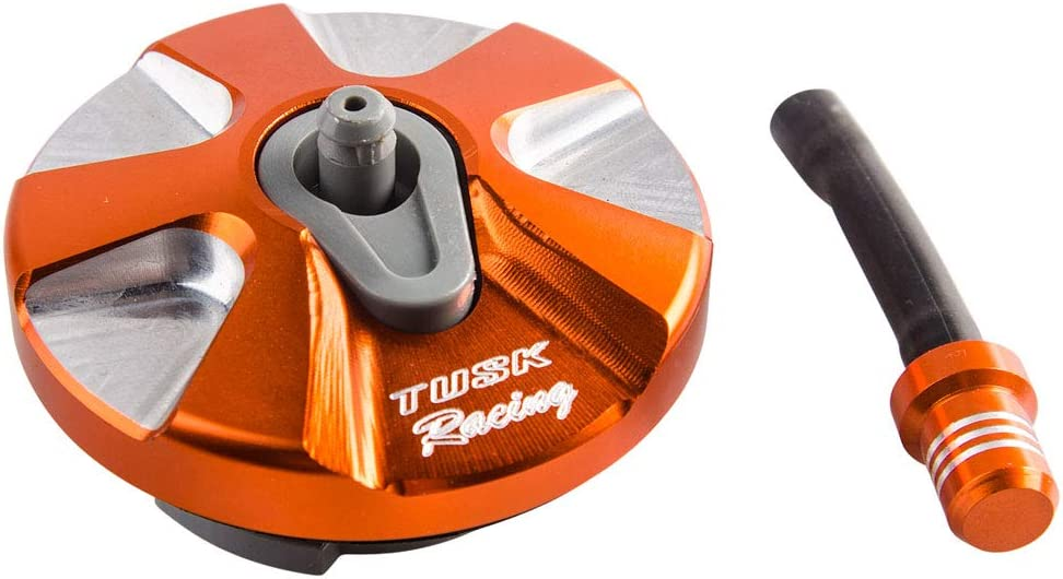 Billet Aluminum Gas Cap Orange No Cheap Minneapolis Mall mail order sales KTM for 2011-201 350 CA SX-F