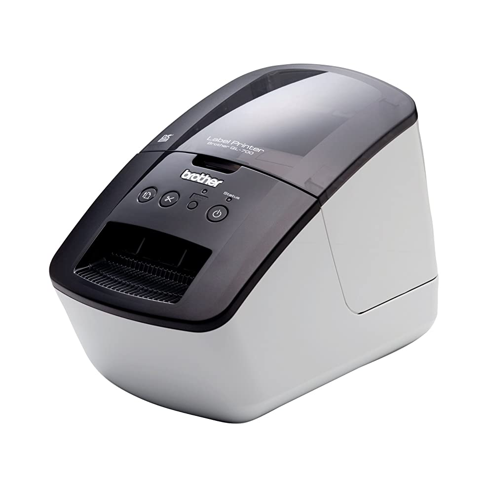 水素歯車加入BROTHER PC宛名ラベルプリンター P-touch QL-700