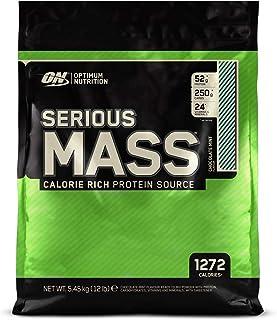 Optimum Nutrition ON Serious Mass Proteína en Polvo Mass Gainer, con Vitaminas, Creatina y Gluta...