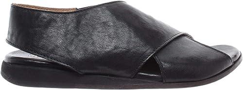 MOMA Chaussures Femmes Sandales Sandales 36901-8A Lubrix noir Cuir Noir Vintage Nouveau  profiter de vos achats