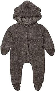 Pijama con capucha para bebé o niña, disfraz de oso polar muy bonito