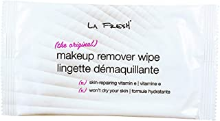 LA FRESH Travel Lite Makeup Remover Towelettes Makeup Remover Wipes (50) with BONUS VELVET LIQUID EYELINER PEN INCLUDED.