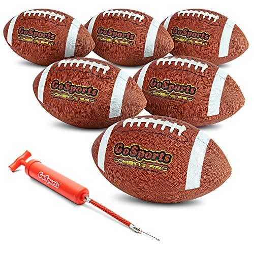 GoSports Combine Football 6 Pack...