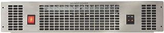 CDA APH01SS Acero inoxidable 2000W Radiador/ventilador - Calefactor (Radiador/ventilador, Pared, Acero inoxidable, 2000 W, Eléctrico)