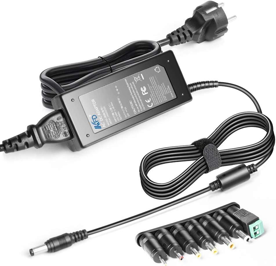 KFD 24V Fuente de alimentación Cargador Universal Adaptador para LED 3528 5050 SMD RGB Impresora TFT LCD Monitor Logitech G25 G27 G29 G920 G940 Racing Wheel 190211-0010 190211-A030 ADP-18L R33030