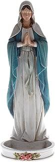 Madonna Rosary Holder, 8 inch