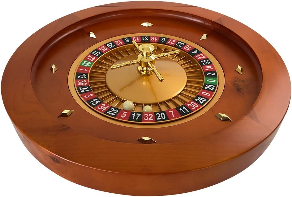 Yuanhe Cash special price Deluxe quality assurance Wooden Roulette Wheel 18Inch 20Inch Â¡