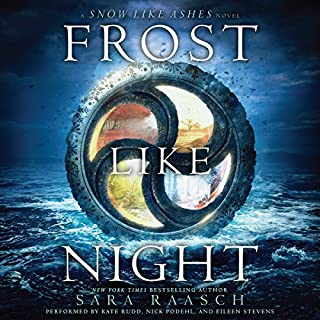 Frost Like Night audiobook cover art