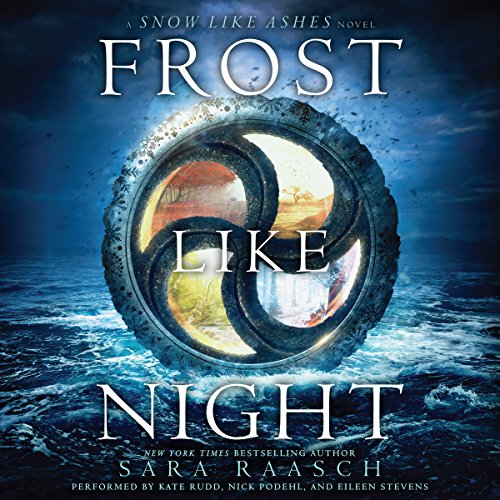 Frost Like Night                   By:                                                                                                                                 Sara Raasch                               Narrated by:                                                                                                                                 Kate Rudd,                                                                                        Nick Podehl,                                                                                        Eileen Stevens                      Length: 12 hrs and 23 mins     401 ratings     Overall 4.5